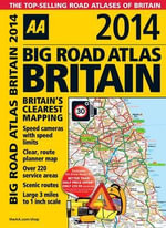 AA Big Road Atlas Bitain 2014