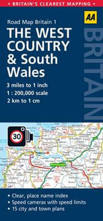 1. West Country & South Wales : AA Road Map Britain - AA Publishing