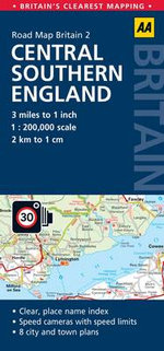 2. Central Southern England : AA Road Map Britain - AA Publishing