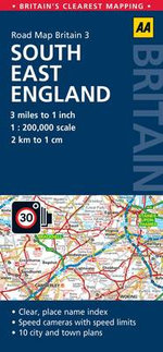 3. South East England : AA Road Map Britain - AA Publishing