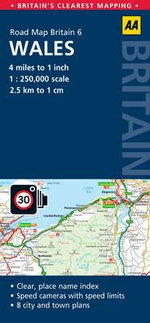 6. Wales : AA Road Map Britain - AA Publishing