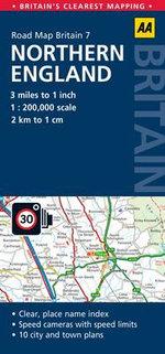 7. Northern England : AA Road Map Britain - AA Publishing