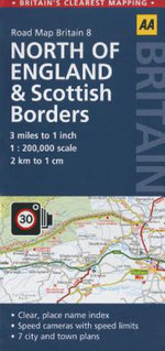 8. Northern England & Scottish Borders : AA Road Map Britain - AA Publishing