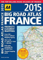 Big Road Atlas France 2015 - Aa Publishing