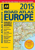 AA Road Atlas Europe 2015 - Aa Publishing