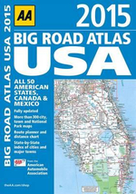 AA Big Road Atlas USA 2015