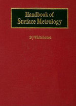 Handbook of Surface Metrology - David J. Whitehouse