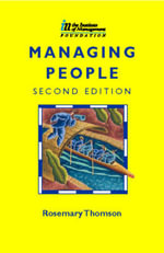 Managing People : Managing People: Human Resources and Personal Deve... - Rosemary Thomson