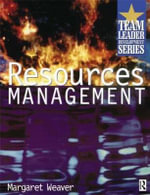 Resource Management - Margaret Weaver