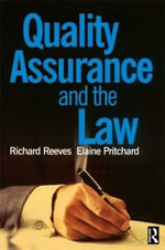 Quality Assurance and the Law - Elaine Pritchard