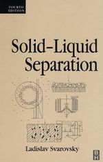 Solid-liquid Separation - Ladislav Svarovsky