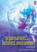 Organisations and the Business Environment - David Campbell