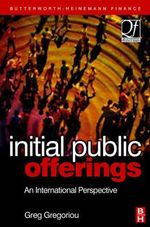 Initial Public Offerings (IPO) : An International Perspective of IPOs - Greg N. Gregoriou