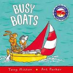 Busy Boats - Tony Mitton