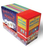 The Amazing Machines Series : Truckload of Fun - 10 x Mini Books in 1 x Boxed Set - Tony Mitton