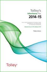 Tolley's Inheritance Tax 2014-15 - Malcolm Gunn