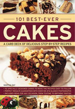 101 Best-ever Cakes : A Card Deck of Delicious Step-by-step Recipes - Martha Day