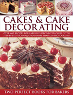 Cakes & Cake Decorationg: Two Perfect Books For Bakers : Over 600 Recipes for Fabulous Decorated Cakes, with Step-by-step Techniques and More Than 1250 Photographs. - Angela Nilsen