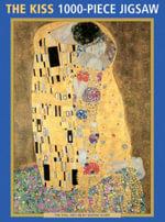 The Kiss by Klimt : 1000-Piece Puzzle - Peony Press