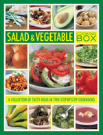 Salad & Vegetable Cooking Box : A Collection of Tasty Ideas in Two Step-by-step Cookbooks - Steven Wheeler