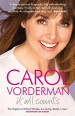 It All Counts - Carol Vorderman