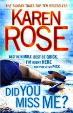 Did You Miss Me? : The Baltimore Series : Book 3 - Karen Rose