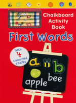 First Words : Chalkboard Activity Book