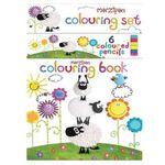 Sheep : Marzipan Colouring Book - Beverley Edge