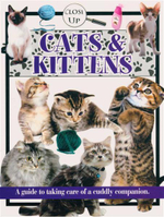 Cats & Kittens  : A Guide to Taking Care of a Cuddly Companion -  Close Up Series