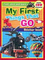 My First Things That Go : Sticker Book