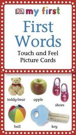 First Words : Touch and Feel Picture Cards - Jane Yorke