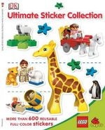 Lego Duplo : DK Ultimate Sticker Collection : More Than 600 Reusable Full-Color Stickers