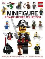 LEGO Minifigure : Ultimate Sticker Collection : More than 1000 Reusable Stickers - DK Publishing