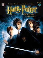 Selected Themes from the Motion Picture Harry Potter and the Chamber of Secrets : Tenor Sax, Book & CD - John Williams