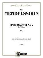 Piano Quartets, Op. 2 - Felix Mendelssohn