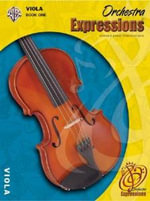 Orchestra Expressions, Book One Student Edition : Viola, Book & CD - Kathleen Deberry Brungard