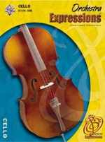 Orchestra Expressions, Book One Student Edition : Cello, Book & CD - Kathleen Deberry Brungard