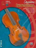 Orchestra Expressions, Book Two Student Edition : Viola, Book & CD - Gerald Anderson