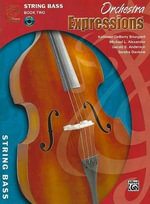 Orchestra Expressions, Book Two Student Edition : String Bass, Book & CD - Gerald Anderson