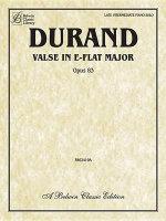 Valse in E-Flat, Op. 83 : Sheet - Marie-Auguste Durand