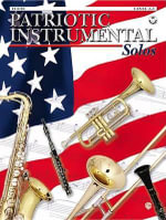 Patriotic Instrumental Solos : Flute, Book & CD