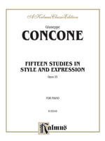Fifteen Studies in Style and Expression, Op. 25 : Kalmus Edition