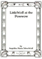 Little Wolf at the Powwow - Angelika  Maria SilverWolf