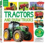 Tractors and Farm Trucks : Includes 9 Chunky Books - Walter Foster Jr. Creative Team