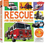 Rescue and Emergency Vehicles : 9 Chunky Books - Walter Foster Jr. Creative Team