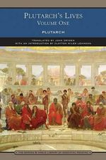 Plutarch's Lives : Volume 1 - Plutarch