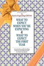 The Congratulations, You're Expecting! Gift Set : What to Expect When You're Expecting & What to Expect the First Year - Heidi Murkoff
