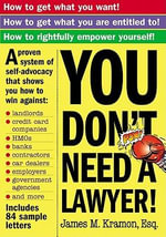 You Don't Need a Lawyer - James Kramon