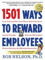 1501 Ways to Reward Your Employees - Bob Nelson