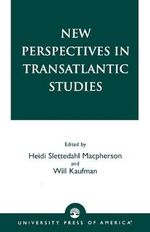 New Perspectives in Transatlantic Studies